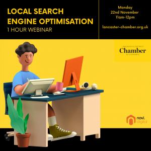 Local Search Engine Optimisation - 1hr free Webinar