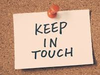 Keeping in Touch - One day training course