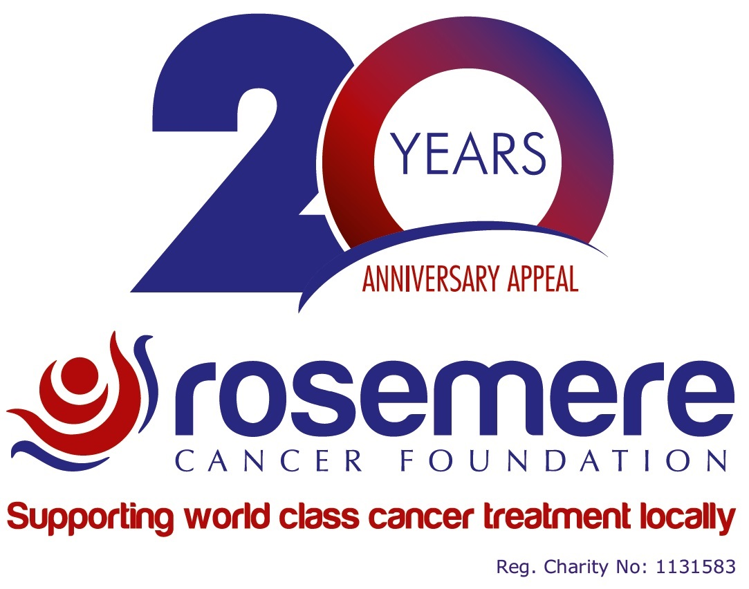 Anniversary logo with logo strapline and charity number