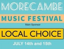 Morecambe Music festival only two weeks away!
