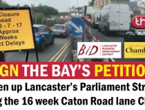Chamber of Commerce members spearhead drive to get road re-opened (Bay petition)