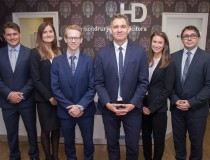 Four new trainees for Harrison Drury