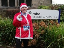 Payroll Lynn gets fit and festive for cancer charity