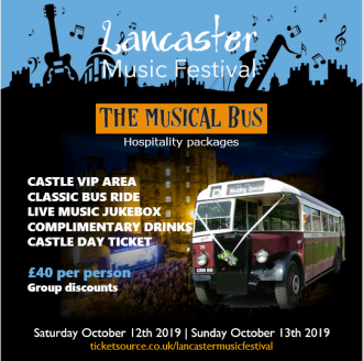 THE MUSICAL BUS at Lancaster Music Festival