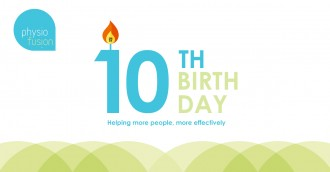 Physiofusion's 10th birthday!