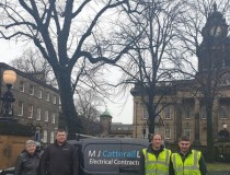 Chamber firm steps in to sort out vandalised Lancaster city square lights