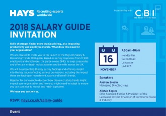 Salary Guide Invitation