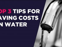 Business water matters – Top 3 water saving tips