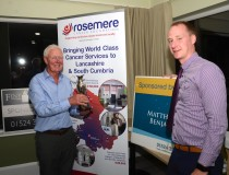 Morecambe golfers get in the swing  for Rosemere