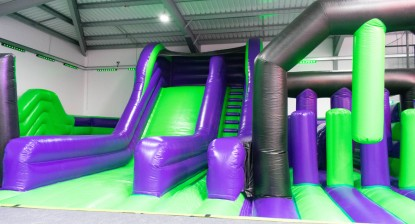 Trampoline   park comes on leaps and bounds with new play zone