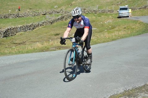 Chamber President completes The Saddleback Fred Whitton Challenge!