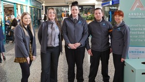 Morecambe's Arndale keeps it local with new team