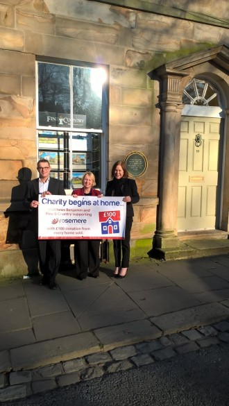 Charity begins and ends at home for local estate agency