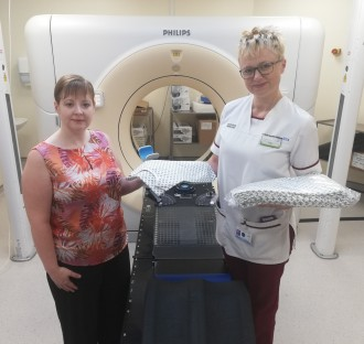 Radiotherapy patients to be given new treatment gowns for keepstreatment gowns for keeps
